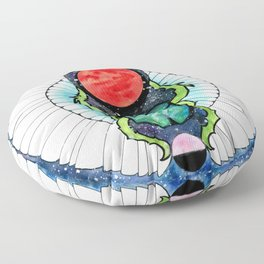 Space Beetle Floor Pillow