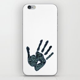 Isaiah 49:16 - Palms of his hands iPhone Skin