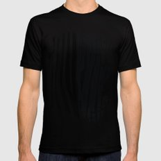 Zebra Black Mens Fitted Tee 2X-LARGE