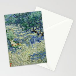 Van Gogh - Olive Orchard Stationery Cards