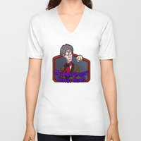 greg guillemin V-neck T-shirts featuring Greg and Chant by UncleGregory
