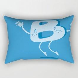 B Happy! Rectangular Pillow
