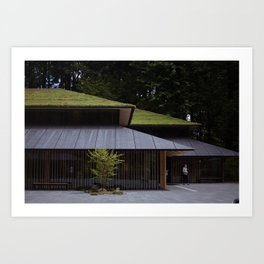 Japanese gallery Art Print
