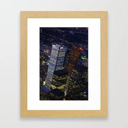 Toronto Skyscrapers Framed Art Print