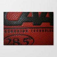 basketball Canvas Prints featuring Basketball by Danielle Podeszek