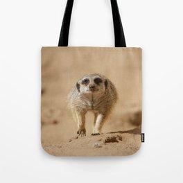 Little cheeky meerkat Tote Bag