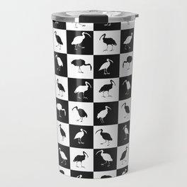 ibises (checkerboard) Travel Mug
