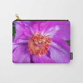 PINK PEONY on Leo Look Carry-All Pouch