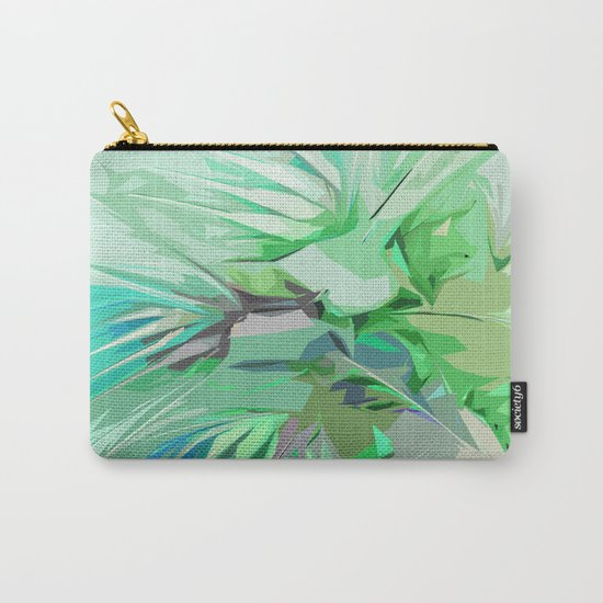 Palm Trees Abstract Carry-All Pouch