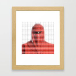 Imperial Guard - StarWars - Pantone Swatch Art Framed Art Print