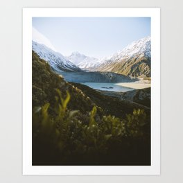 Mount Cook National Park Art Print
