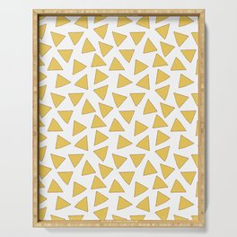 NACHOS NACHO CHIPS FAST FOOD PATTERN Serving Tray