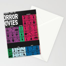 Periodic Movies Horror Stationery Cards