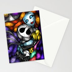 Love at its darkest Stationery Cards