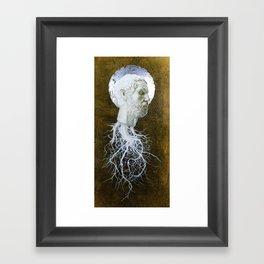 """The End of Reason"" Framed Art Print"