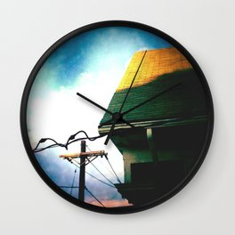 Eastside Hipsters Wall Clock
