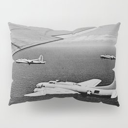 B-17F Flying Fortress Bombers over the Southwest Pacific Pillow Sham
