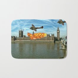 Houses of Parliament London Bath Mat