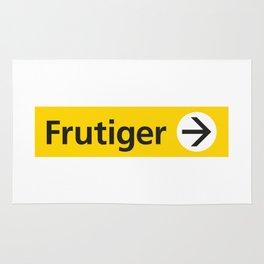 Frutiger arrow | W&L007 Rug