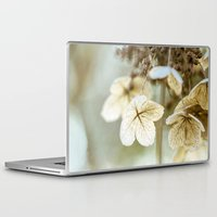 hydrangea Laptop & iPad Skins featuring hydrangea by Bonnie Jakobsen-Martin