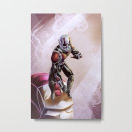 ant-man Metal Print