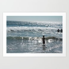 Little Boy Innocence  Art Print