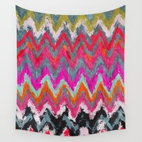 chevron Wall Tapestries featuring Chevron * by Mr and Mrs Quirynen