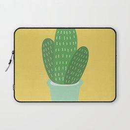 Cute Cactus Illustration Laptop Sleeve