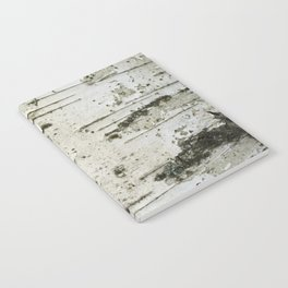 Birch bark pattern Notebook