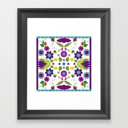Floral 2  Framed Art Print