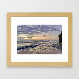 Life at Dawn Framed Art Print