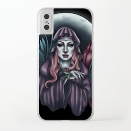 Priestess Clear iPhone Case