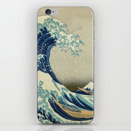 Katsushika Hokusai -The Great Wave off Kanagawa iPhone Skin