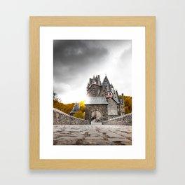 Castle in the Woods 4 Framed Art Print