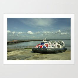 Ryde Craft n train Art Print