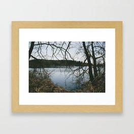 pond. Framed Art Print