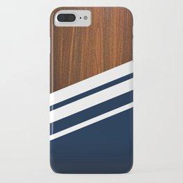 Wooden Navy iPhone Case