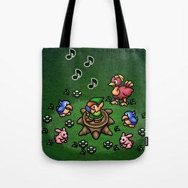 Flute Boy Tote Bag