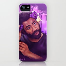 Donald Glover   Digital Painting iPhone Case