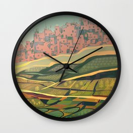 Growing Food Wall Clock