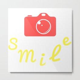 Smile | Sonríe Metal Print