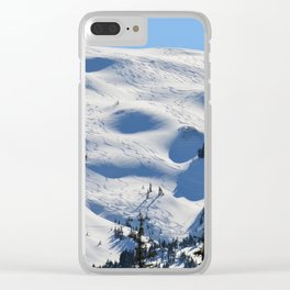 Back-Country Skiing - II Clear iPhone Case