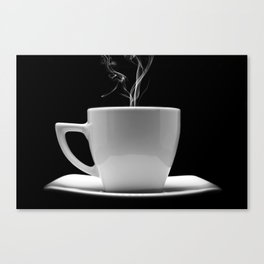 Coffee Shop Decor Canvas Print