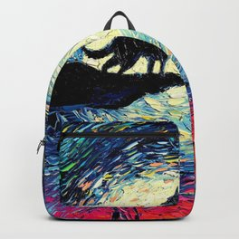 Starry Night(Wolf) Backpack