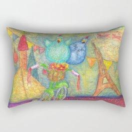 explore the unknown Rectangular Pillow