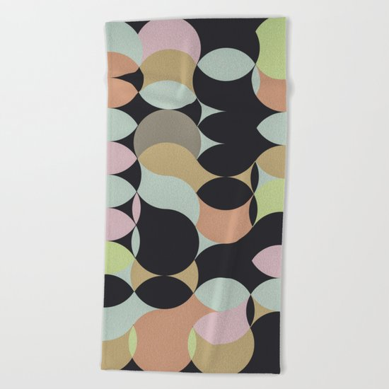 Circles II Beach Towel