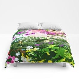 Grotto De Flores Comforters