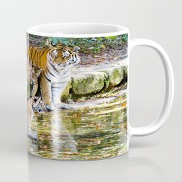 Lessons Of Life Mother Tiger And Cubs Coffee Mug