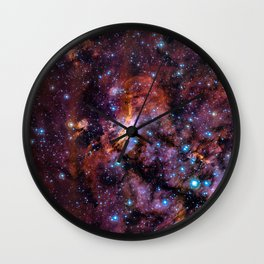 The Prawn Nebula Wall Clock