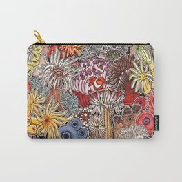 Clown fish and Sea anemones Carry-All Pouch